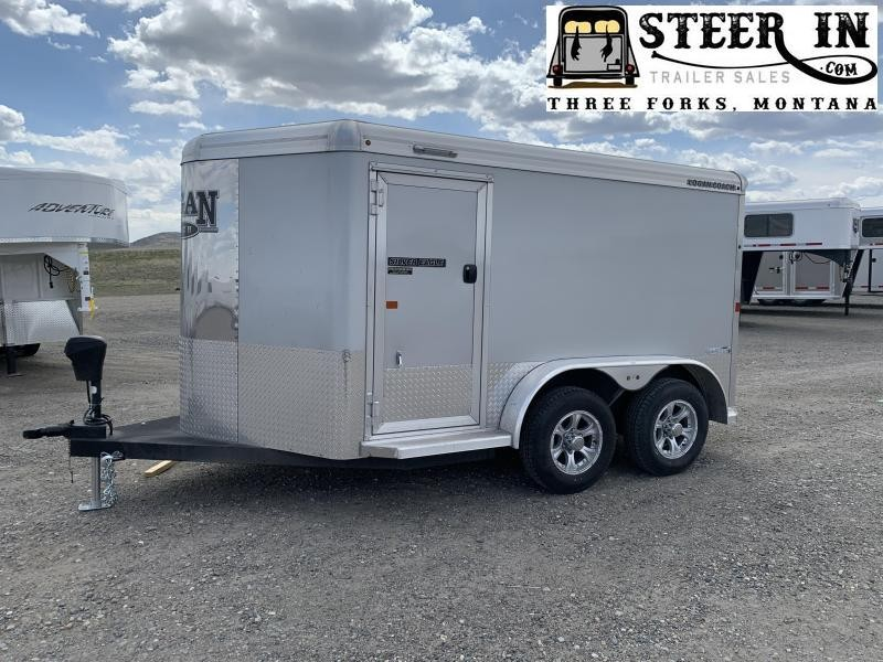"2019 Logan Coach Silver Eagle 2 Bike Trailer (7'3"" X 12' SE) Enclosed Cargo Trailer"