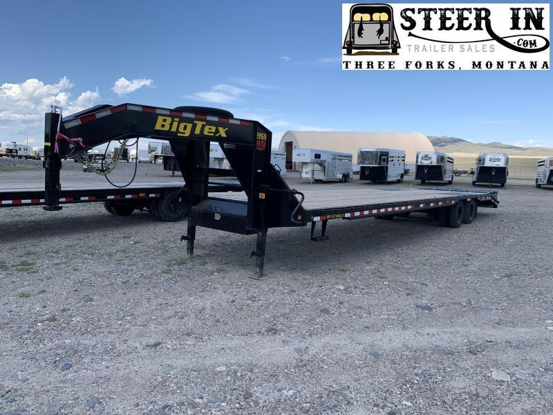 2020 Big Tex 22GN 40' Tandem Dual Equipment Trailer