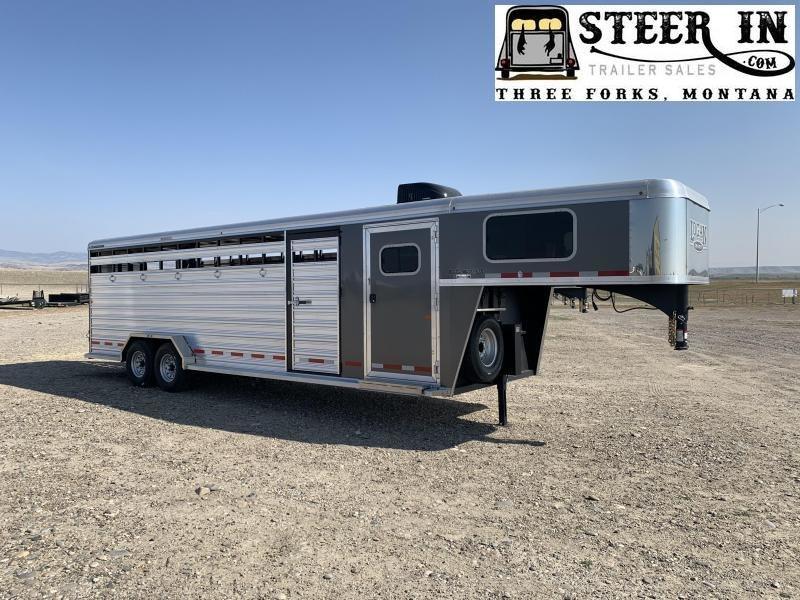 2020 Logan 26' Stock/Combo Livestock Trailer