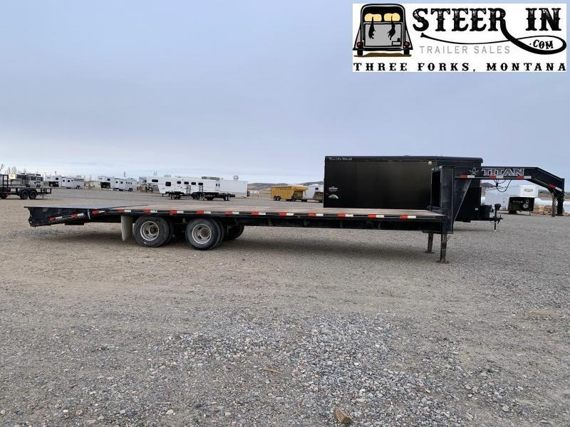2017 Titan 30' (24+6) Flatbed Trailer