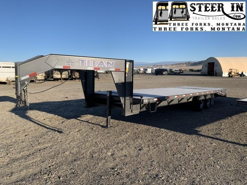 2021 Titan 26' (20+6) Flatbed Trailer
