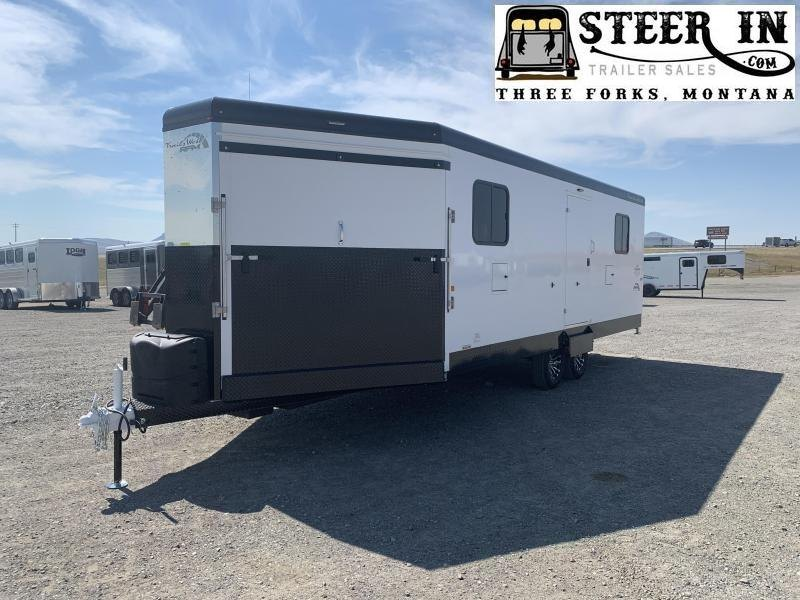 2021 Trails West RPM 28' Bumper Pull Snowmobile Trailer