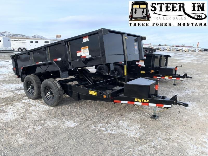 2020 Big Tex 90SR 12' Dump Trailer