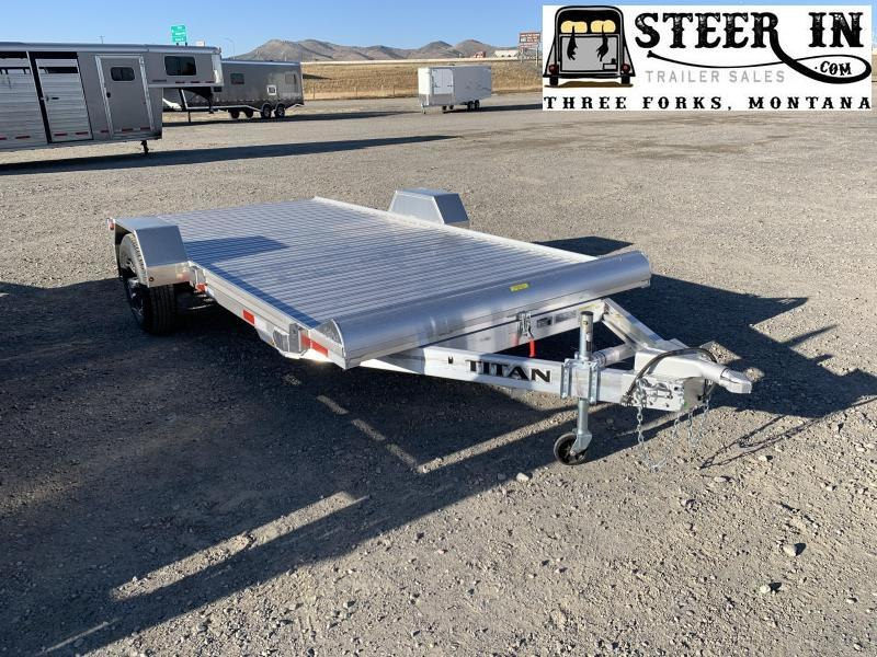 2021 Titan 14 Aluminum Tilt Utility Trailer