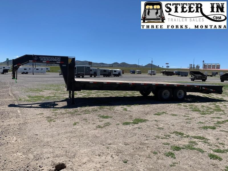 2017 Titan 26' (20+6) Flatbed Trailer