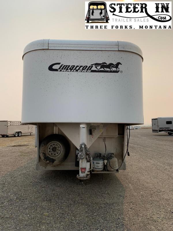 2008 Cimarron  STOCK/COMBO LQ Horse Trailer