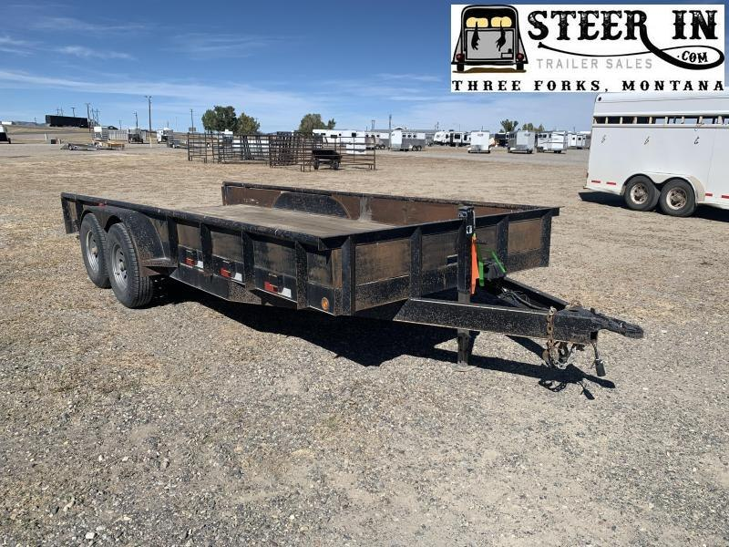 2014 Road Boss 18' Equipment Trailer
