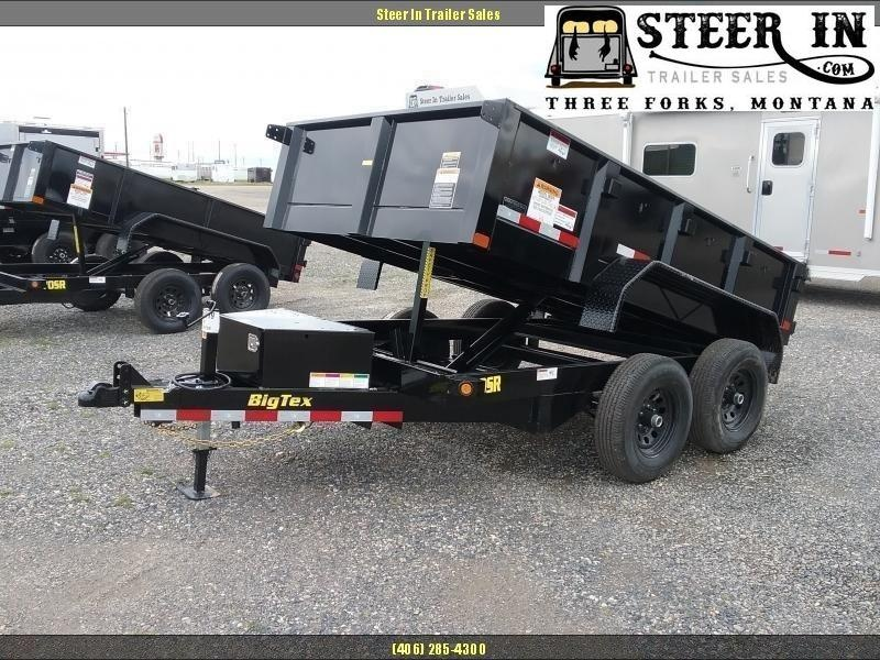 2020 Big Tex 90SR 10' Dump Trailer