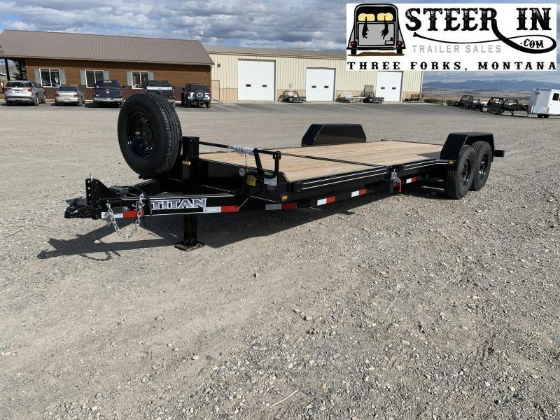 2021 Titan Tilt 22' (16+6) Equipment Trailer