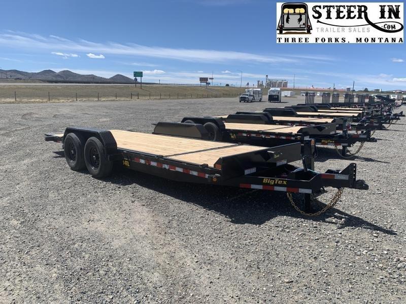 2022 Big Tex 14TL 20' (16+4) Tilt Equipment Trailer