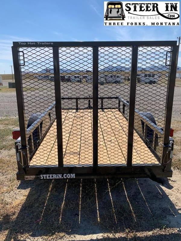 """2022 Top Hat Trailers 10x60"""" X Utility Trailer"""
