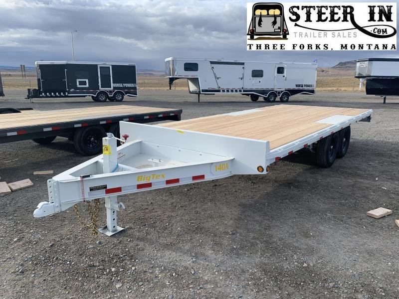 2021 Big Tex 14OA 20' Equipment Trailer