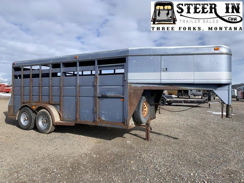 1994 Charmac 16' Stock Trailer