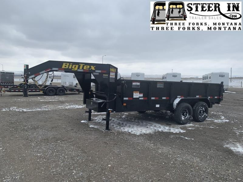 2021 Big Tex 14GX 16'  Dump Trailer 4' Sides