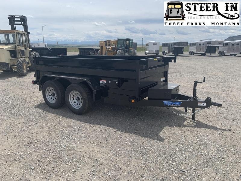 "2022 Top Hat 60""x10' DP70 Dump Trailer"