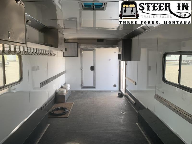2018 Logan 36' Ultimate Sports Hauler w/ Living Quarters