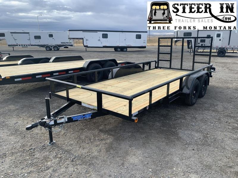 """2021 Top Hat 16X83"""" MP Utility Trailer"""