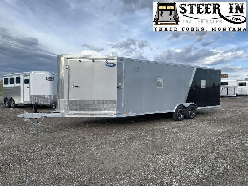 2020 EverLite 29' Enclosed Snowmobile/Auto Trailer