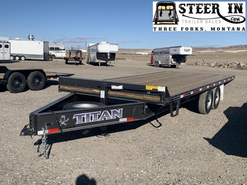 2021 Titan 20' Deck Over Equipment Trailer