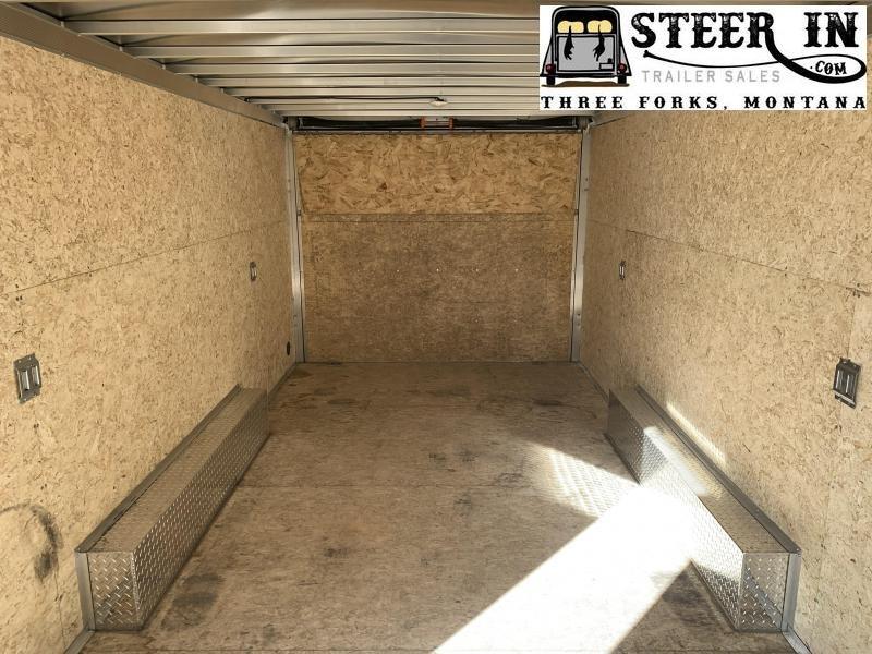 2020 EZ Hauler 8X20' Enclosed Cargo Trailer