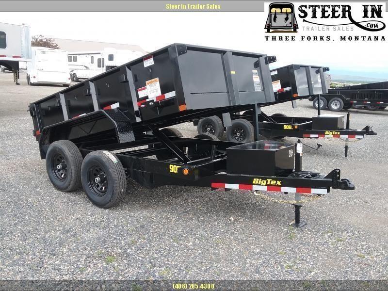 2021 Big Tex 90SR 10' Dump Trailer