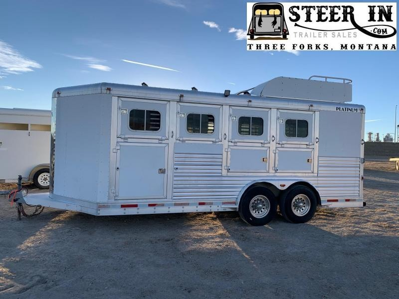 2006 Platinum Coach 4H BP Horse Trailer