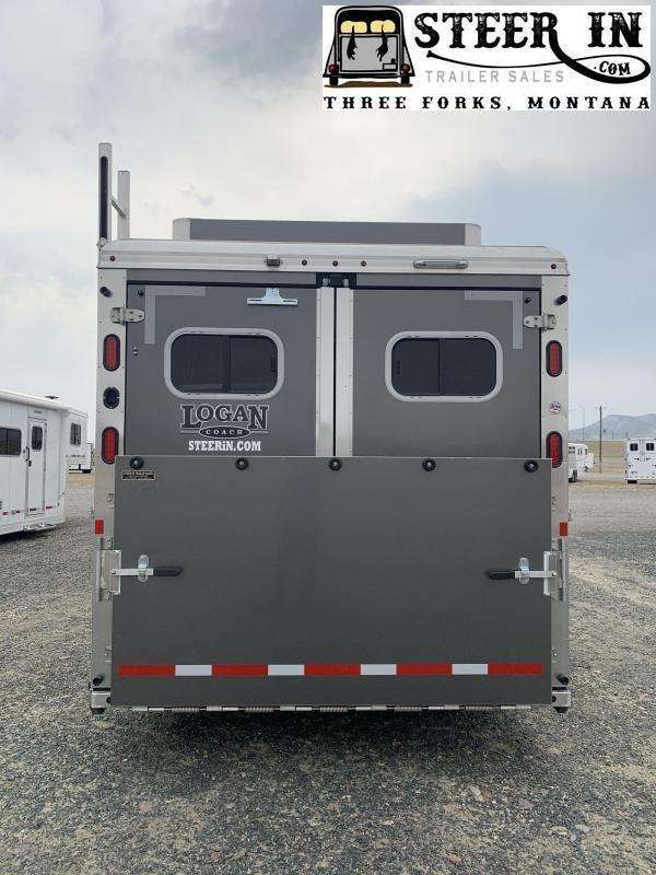 2019 Logan Razor 4 Horse LQ GN Horse Trailer