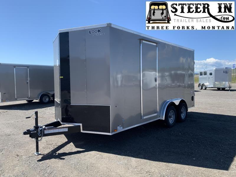 2021 Look 7.5X16' Enclosed Cargo Trailer