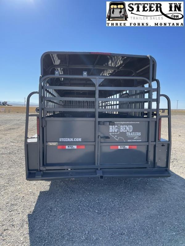 2022 Big Bend 24' Stock Trailer Livestock Trailer