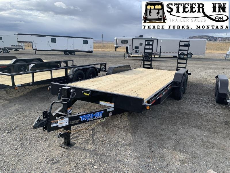 "2021 Top Hat 20x83"" EH 14K Equipment Trailer"