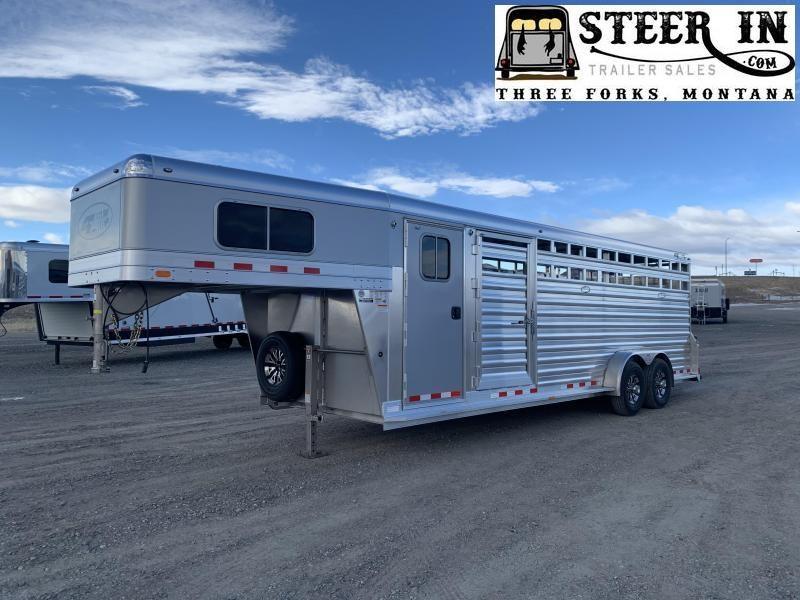 2022 4-Star 24' Stock Combo Livestock Trailer