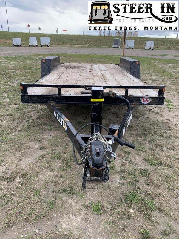 2016 Walton 18' Equipment Trailer