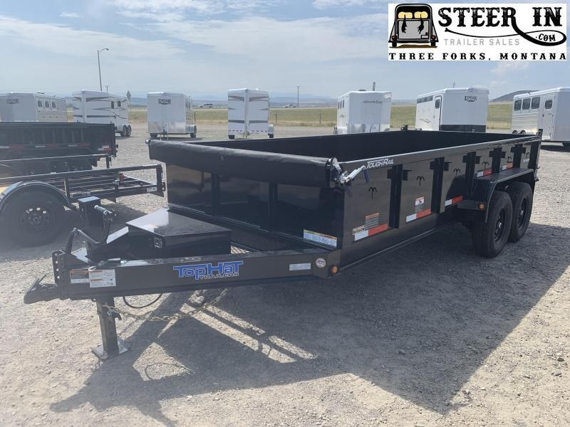 2021 Top Hat Trailers 7x16 DPX Dump Trailer