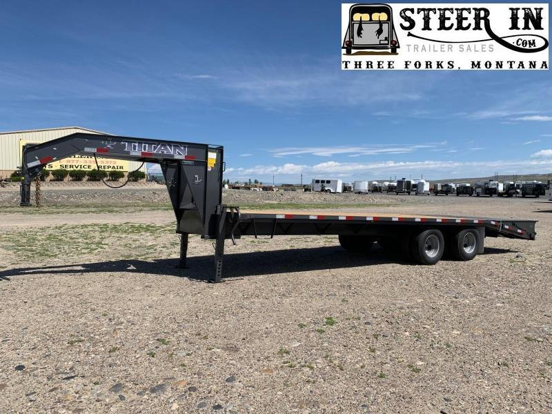 2020 Titan 26' (20+6) Flatbed Trailer