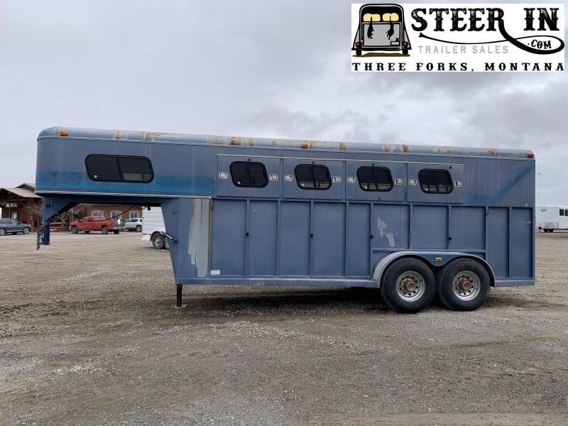 1993 Trails West 4H Horse Trailer