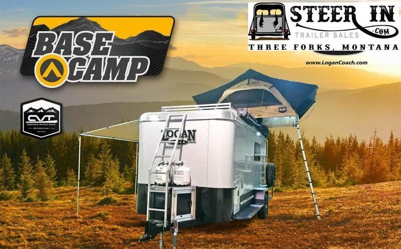 2020 Logan Coach BASE CAMP -EXPEDITION SERIES Enclosed Cargo Trailer