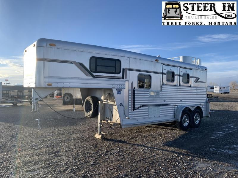 1997 4-Star 2H GN Horse Trailer