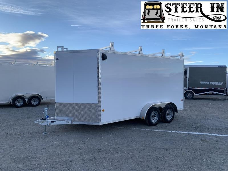 2021 EZ Hauler 7x14' UCP Enclosed Cargo Trailer