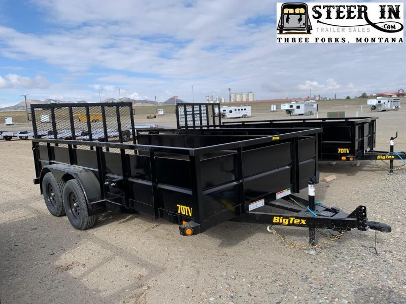 2021 Big Tex 70TV-14' Utility Trailer