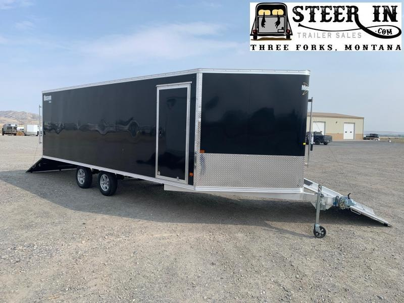 2020 Mission MES101X22(6.5) Snowmobile Trailer