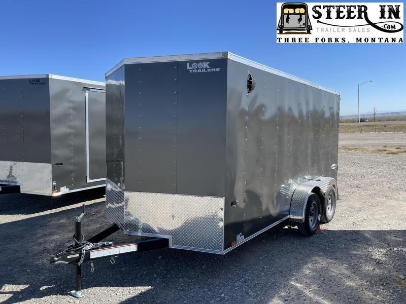 2020 Look 7x14' Enclosed Cargo Trailer