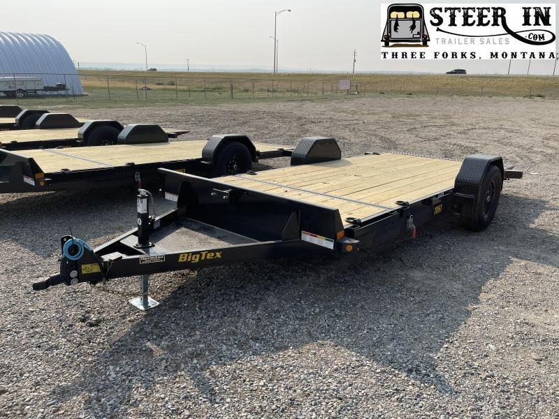 2022 Big Tex 70ST 16' (13+3) Equipment Trailer