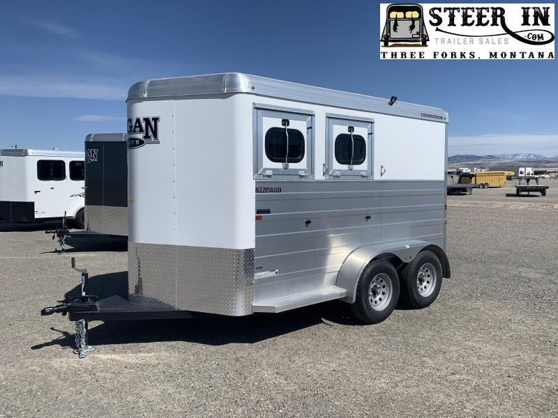 2021 Logan Bullseye 2H BP Horse Trailer