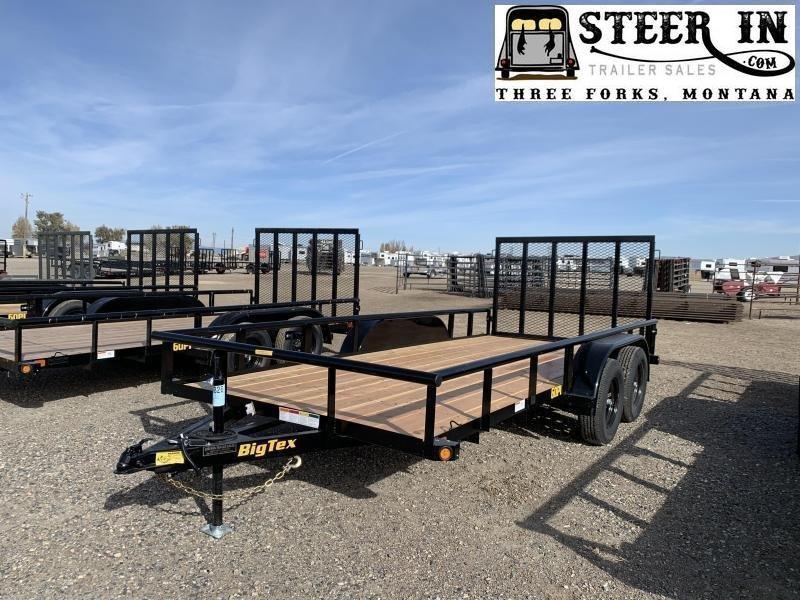2021 Big Tex 60PI 16' Tandem Axle