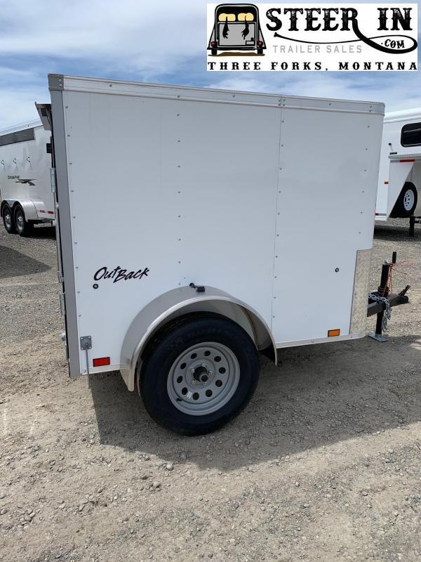 2021 Pace 4X6' Enclosed Cargo Trailer