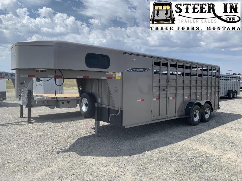 2020 Titan 20' Standard Stock/Combo Livestock Trailer