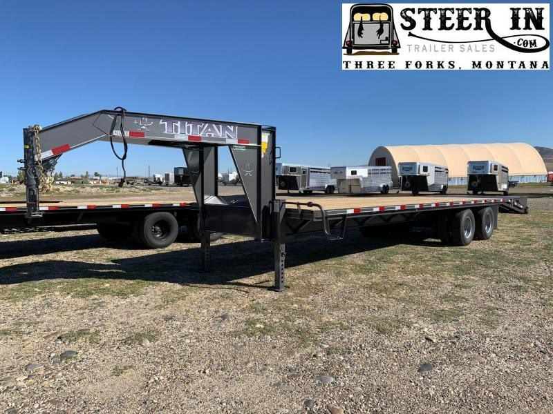 2021 Titan 30' (24+6) Flatbed Trailer