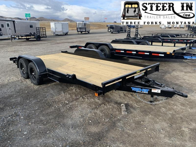 2021 Top Hat 16'x83 CH Car / Racing Trailer