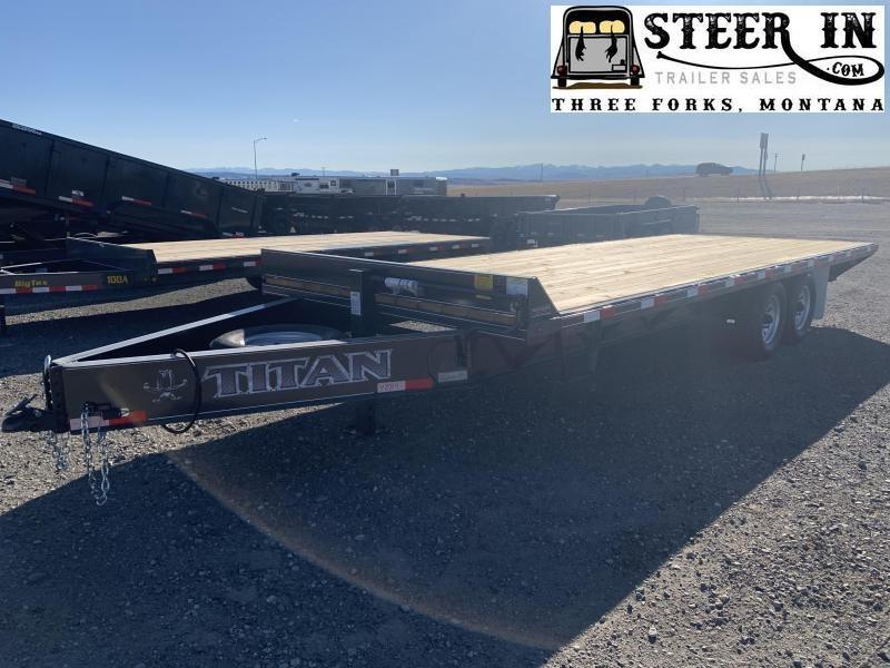 2021 Titan 22' Deck Over Equipment Trailer