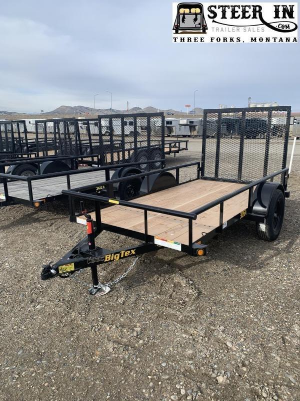 2022 Big Tex 30SA 10' Utility Trailer